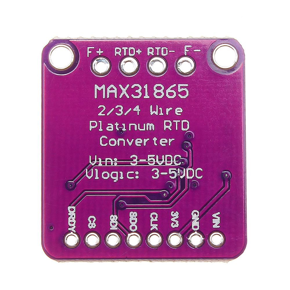 3 шт. GY-31865 MAX31865 Температура Датчик Модуль RTD Модуль Цифрового Преобразования - фото 5