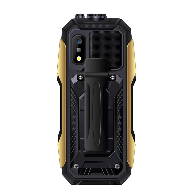 SERVO X7 2.4  4000mAh Антенна Аналоговое изменение голоса телевизора Лазер Фонарик OTG 3 SIM-карты с функцией телефона - фото 6