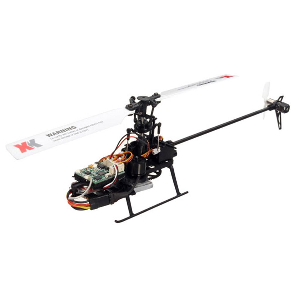XK K110 2.4G 6CH 3D Flybarless RC Вертолет RTF Совместимо с FU-TABA S-FHSS С 4PCS 3.7V 450MAH Lipo Батарея - фото 5