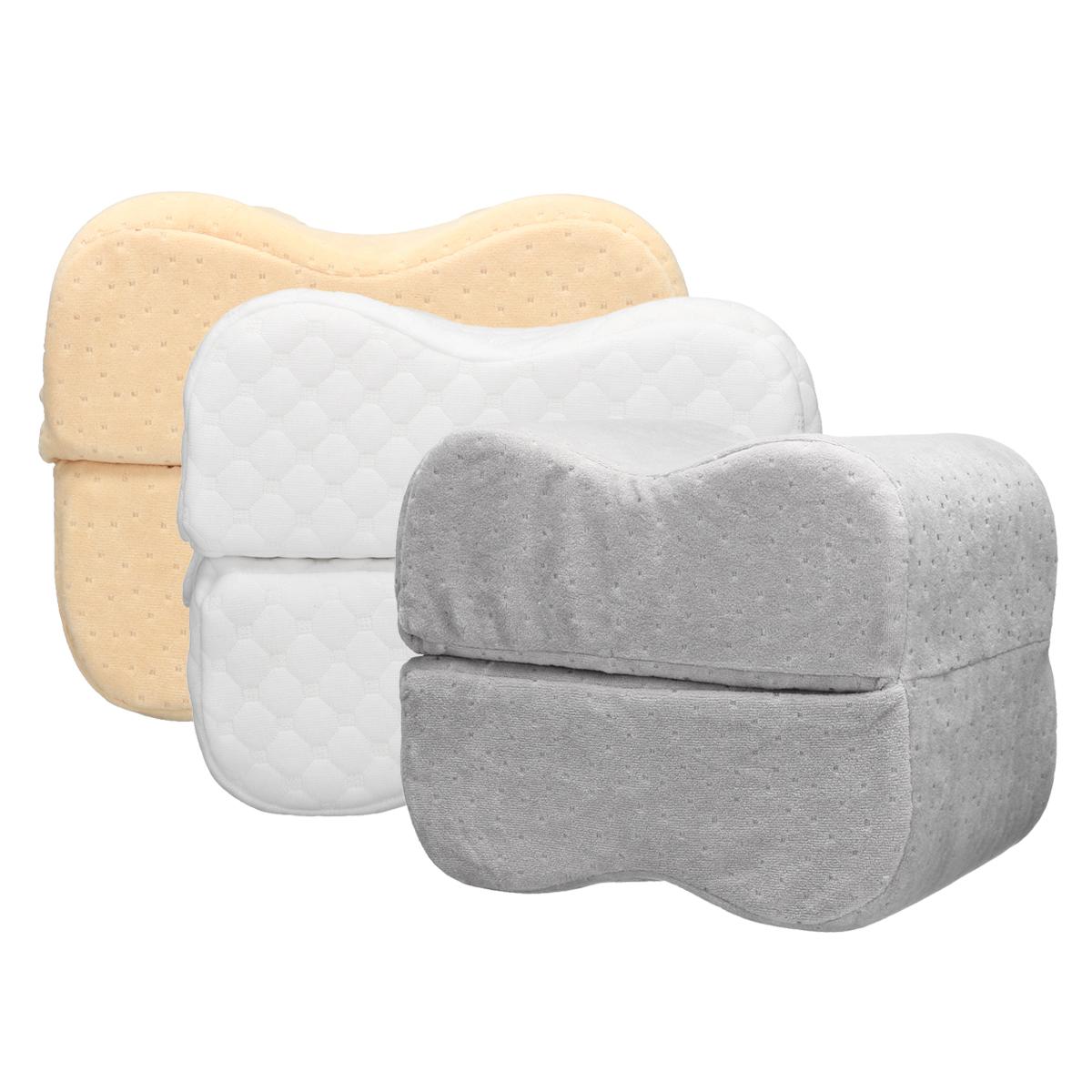 Подушка Sleep Foam Yoga Подушка для ног Спальники и боковые шпалы, эргономичный вариант пуховой альтернативы между и под - фото 3