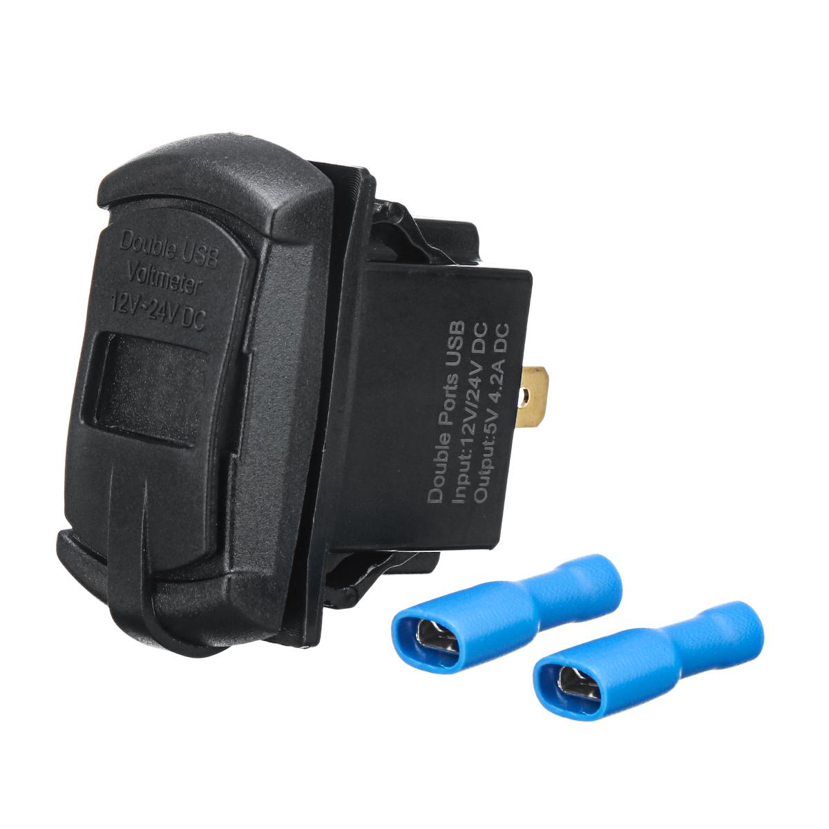 Зарядное устройство USB для Polaris UTV RZR RZR4 Ranger XP 1000 900 800 Crew 2015 2016 - фото 4