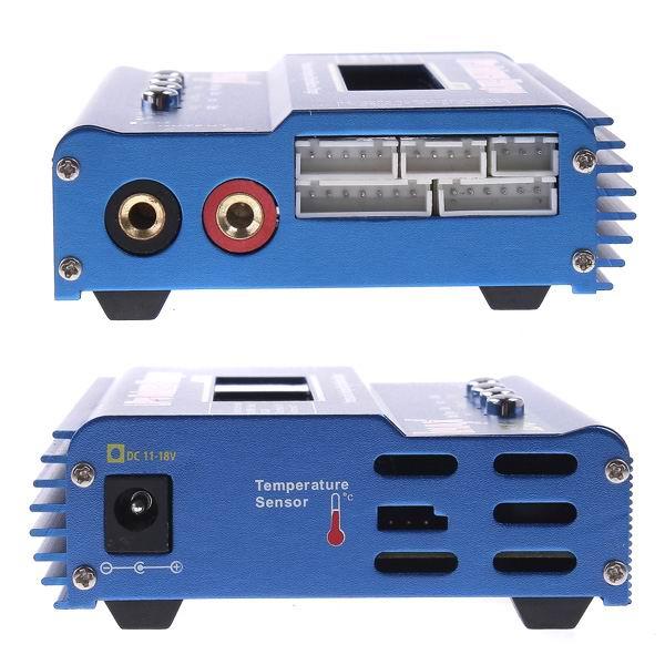 IMAX B6AC 80 Вт 6A Зарядное устройство с двумя весами и зарядным устройством с параллельной зарядкой XT60 T Plug - фото 9
