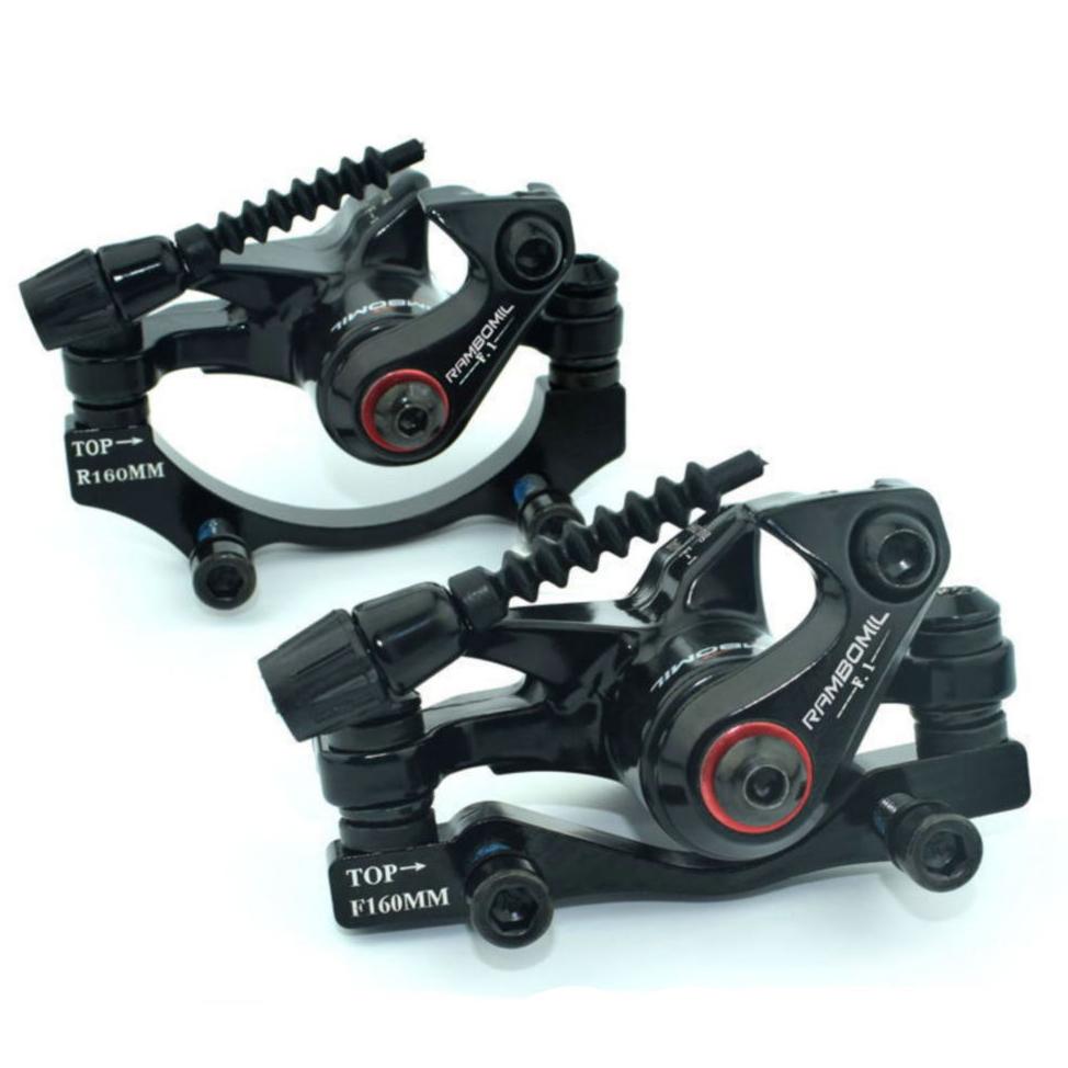 RAMBOMILRoadВелосипедВелосипедВелосипедТормозной диск TOP-F160 / R140 TOP-R160 / F180 Тормозной диск Набор - фото 1