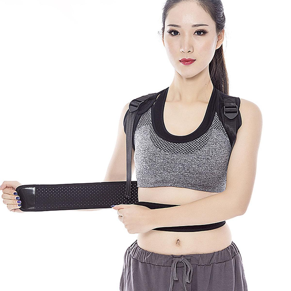 6 Тип Спинка осанки Брейс Ремень Корректор плечевой коррекции Болевая терапия Мужчины Женское - фото 4
