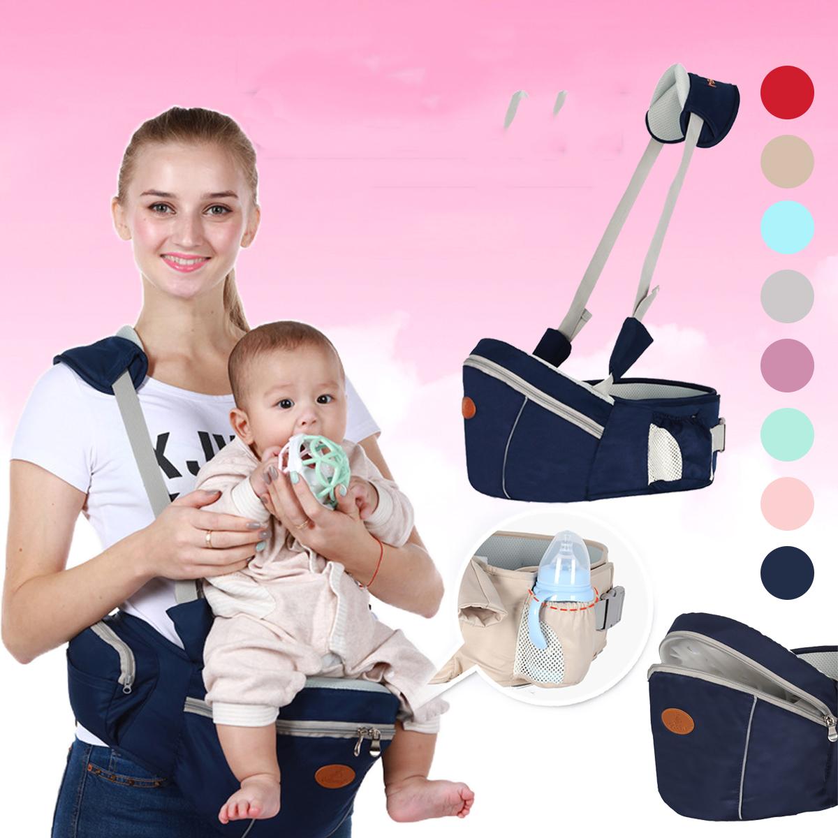 Детское бедро сиденье с талией Стул ходунки Младенческая слинг-трюм Ремень Рюкзак - фото 1