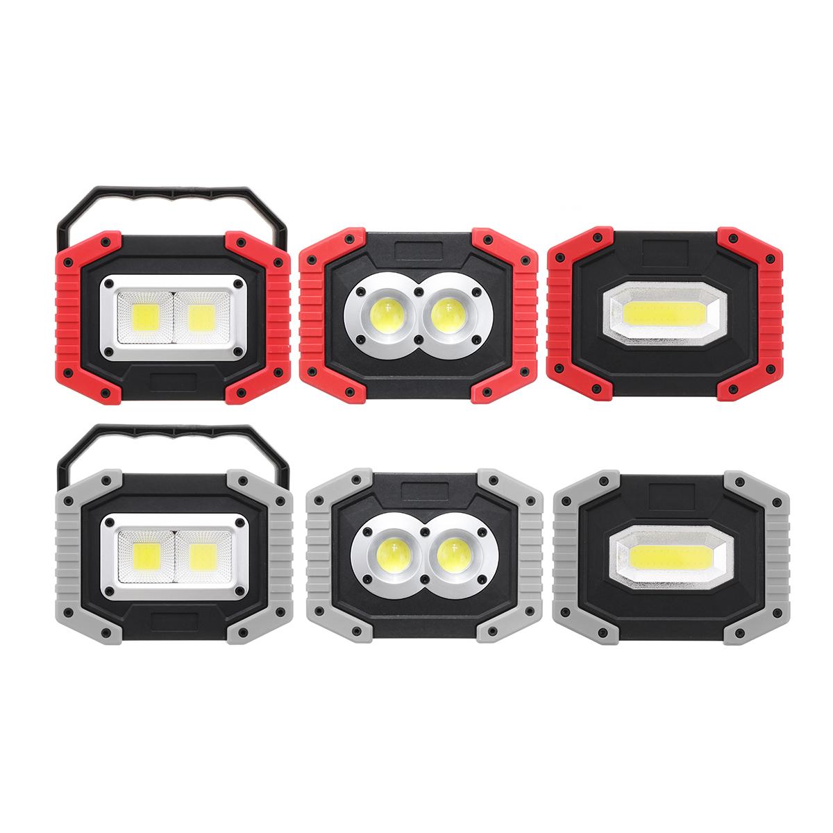 Xmund XD-SL2 30 Вт USB LED COB На открытом воздухе 3 режима рабочего освещения Кемпинг Фонарь аварийного фонаря Прожекто - фото 3