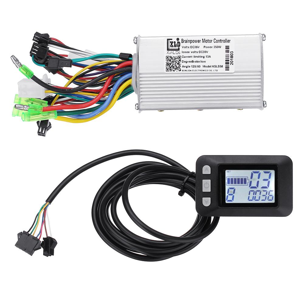 LCD Brushless Motor Controller
