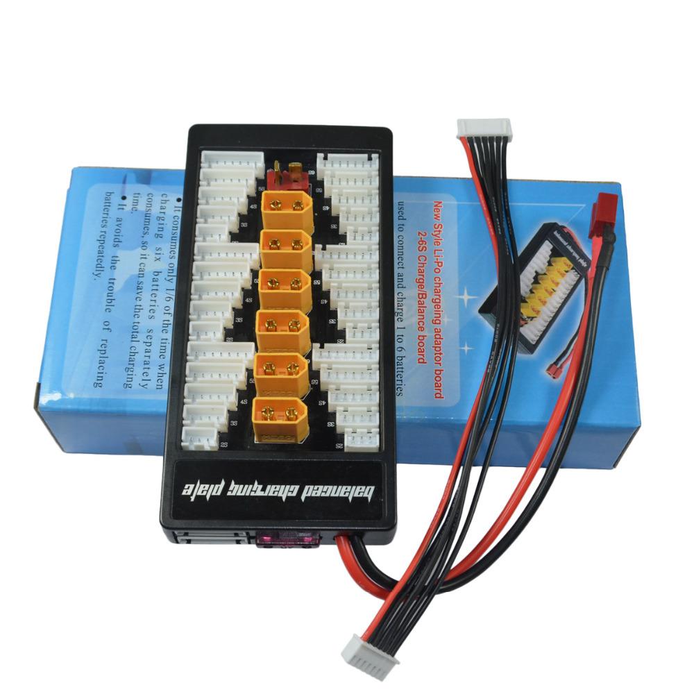 IMAX B6AC 80 Вт 6A Зарядное устройство с двумя весами и зарядным устройством с параллельной зарядкой XT60 T Plug - фото 11