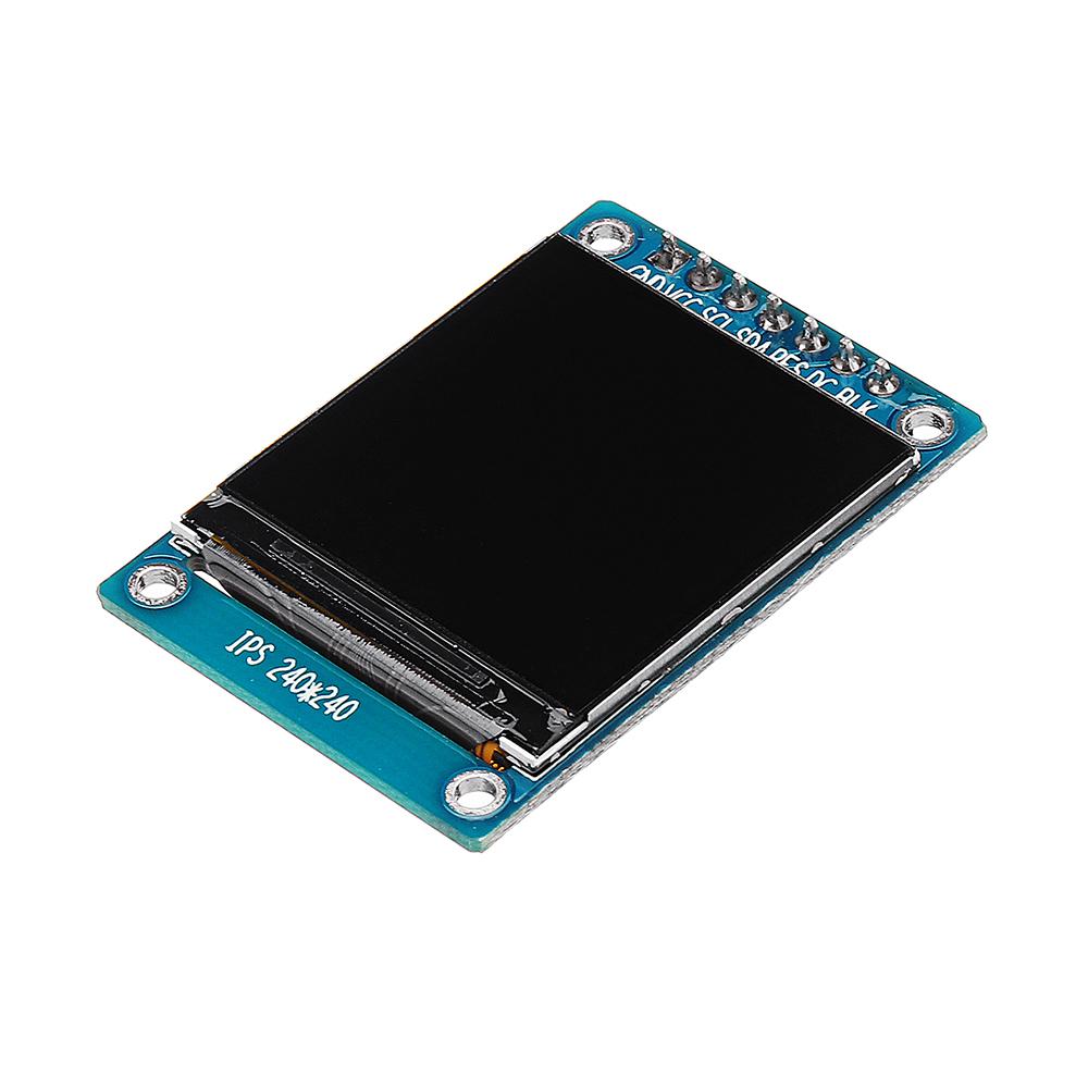 1.3дюймовIPSTFTLCDДисплей 240 * 240 Цвет HD LCD Экран 3.3V ST7789 Модуль драйвера - фото 5