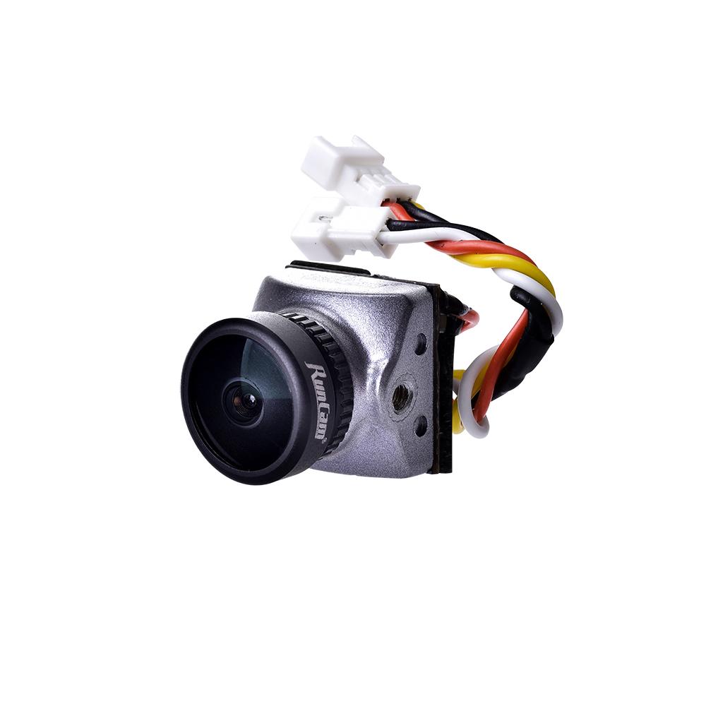 Runcam Гонщик Nano CMOS 700TVL 1,8 мм / 2,1 мм Супер WDR Самый маленький FPV камера 6 мс Управление жестами с низкой зад - фото 1