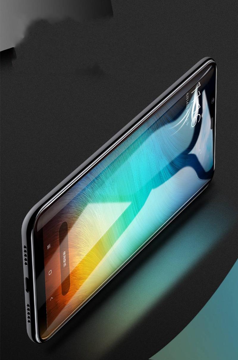Baseus0,3ммПоверхностныйполноэкранныйтемный стеклянный протектор экрана для Xiaomi МИ8 - фото 7