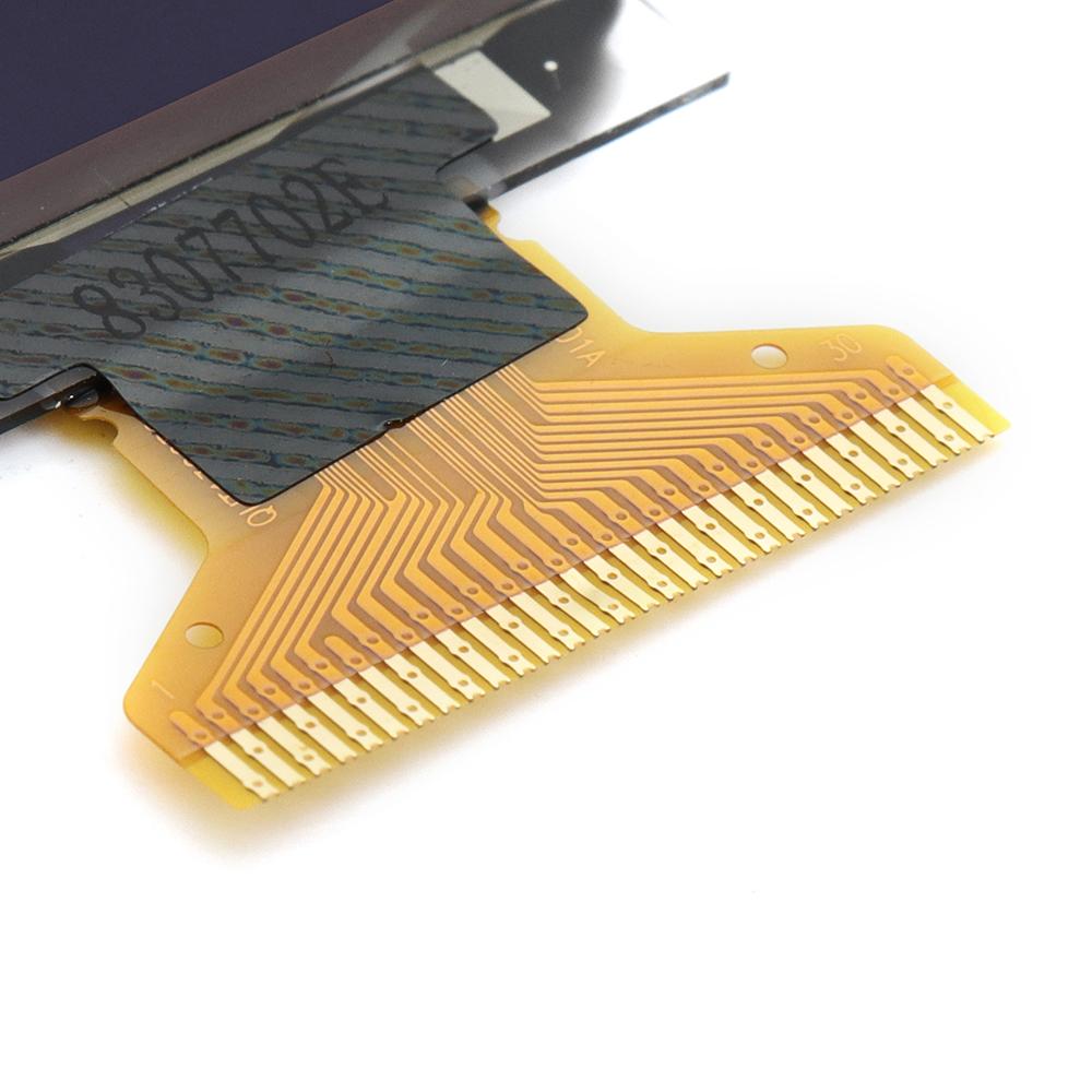 3шт 0,96 дюйма OLED Дисплей 12864 серийный LCD Дисплей синий цвет Дисплей - фото 4