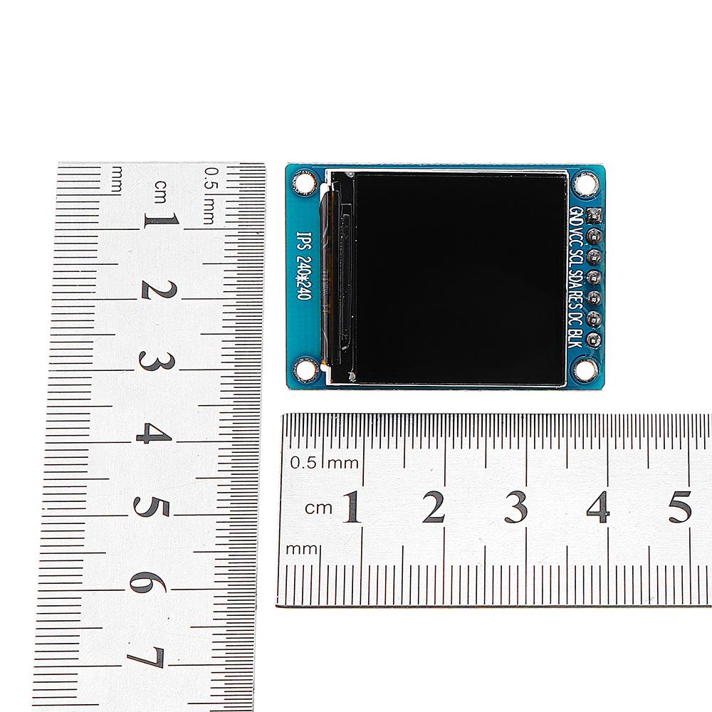 1.3дюймовIPSTFTLCDДисплей 240 * 240 Цвет HD LCD Экран 3.3V ST7789 Модуль драйвера - фото 2