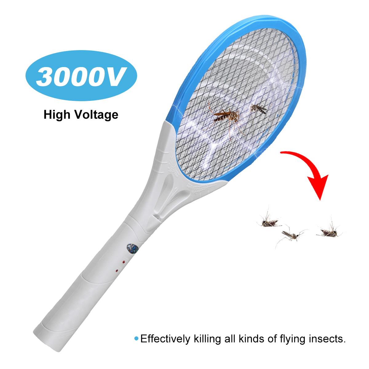 Мухобойка электрическая Мухобойка Мухобойка Zapper Bug Zapper Ракетка для тенниса Форма Убивает насекомых Комариные кома - фото 3