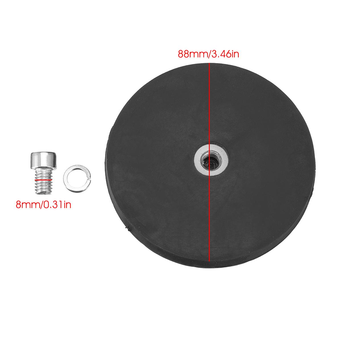 Кронштейн M8 Strong Магнит с резиновой прокладкой для рабочей планки LED - фото 2