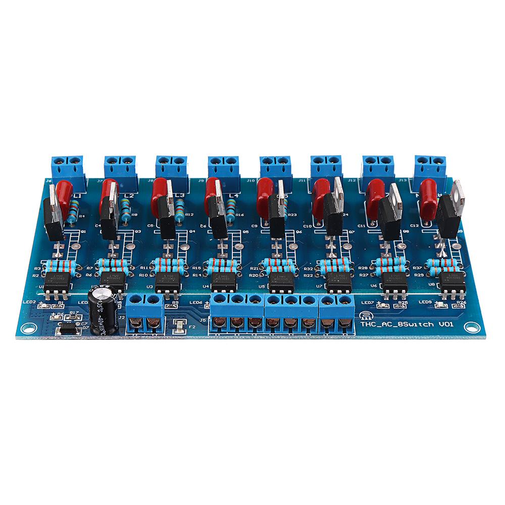 8CH Канал ПЛК Выход DC Транзистор Усилитель Изоляция Пластина Плата - фото 7