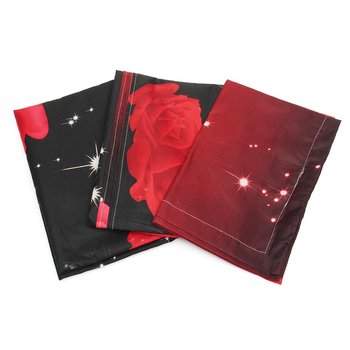 4шт.3D-изображенияНаборыдляпостельного белья Комплект подошв 1 Одеяло Обложка 1 Оборудованный лист 2 Подушки - фото 2