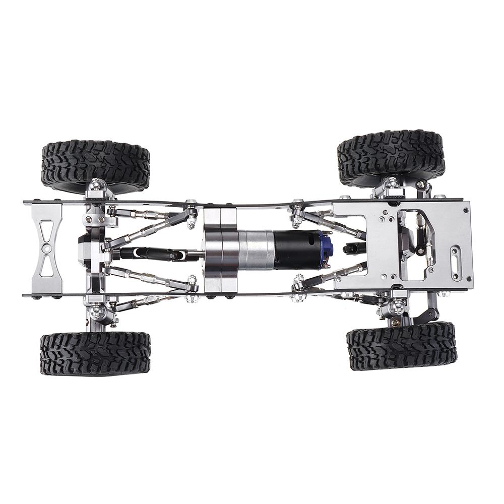 WPL C14 C24 1/16 Металл RC Авто Обновление шасси Запчасти RC Модели автомобилей - фото 5