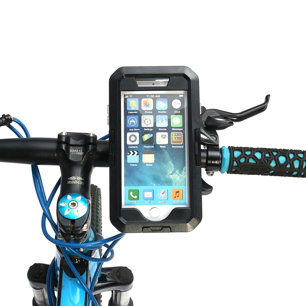 IPX8 Водонепроницаемы Держатель руля велосипеда / велосипеда Защитный Чехол Для iPhone 7/iPhone 8 - фото 1