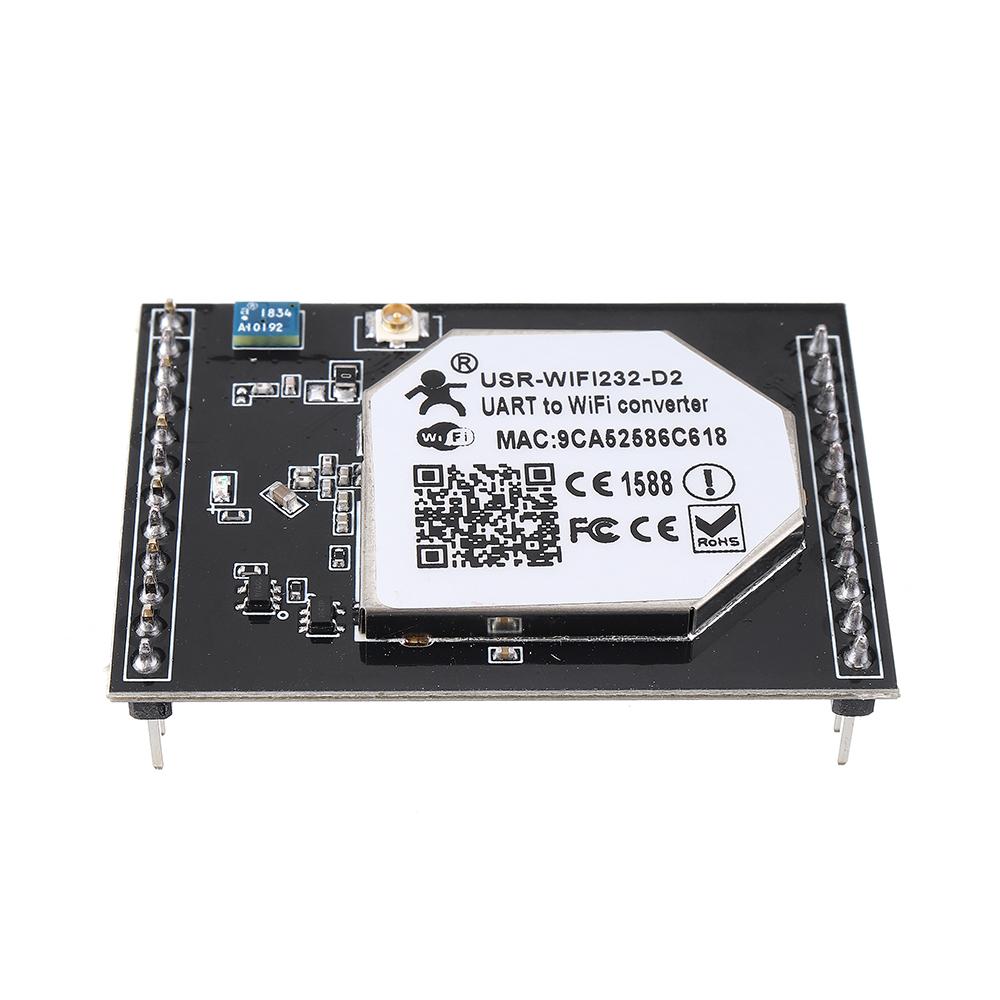 МодульSerialtoWiFiВстроенныйдвухпортовый беспроводной последовательный порт Ethernet 232 D2 - фото 2