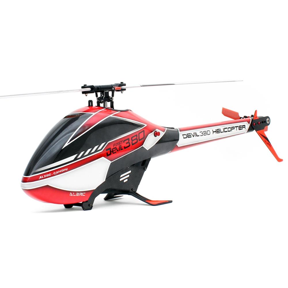 ALZRC Devil 380 FAST FBL 6CH 3D Flying RC Вертолет Стандартный комбинированный с 3120 Pro Бесколлекторный мотор 60A V4 E - фото 2