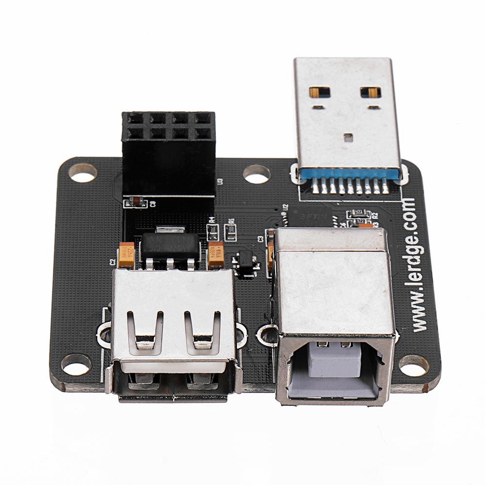 Модуль расширения модуля расширения USB для модуля Lerdge для материнской платы 32-битный контроллер 3D-принтера - фото 4