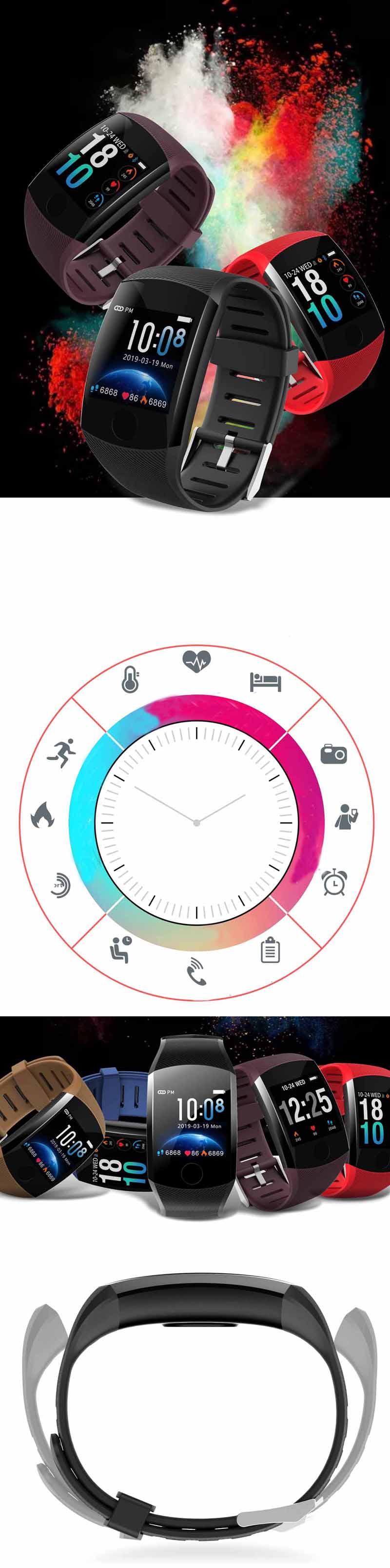 XANESQ111,3-дюймовыйсенсорныйэкранВодонепроницаемы Smart Watch Call Reject Фитнес Спортивный браслет - фото 2
