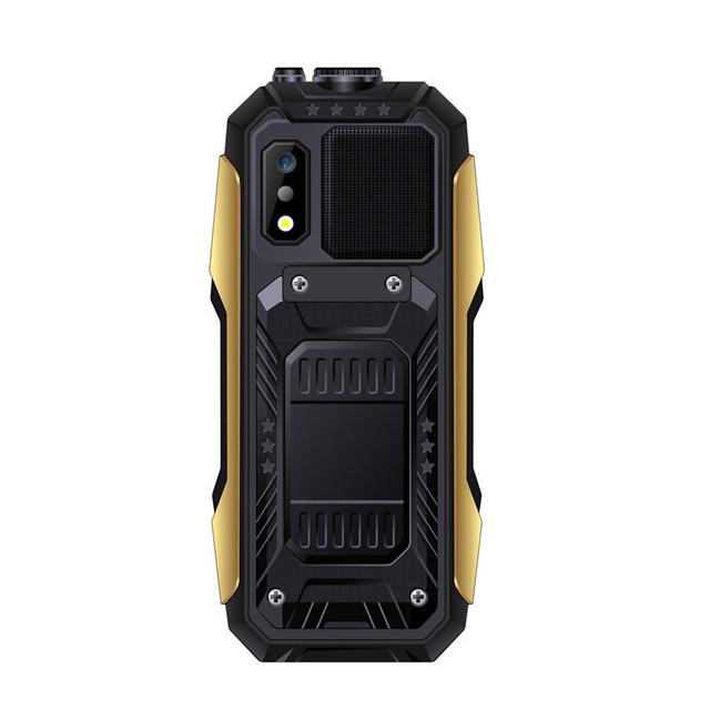 SERVO X7 2.4  4000mAh Антенна Аналоговое изменение голоса телевизора Лазер Фонарик OTG 3 SIM-карты с функцией телефона - фото 5