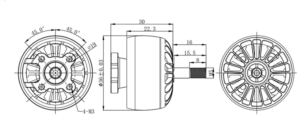IFlight XING X2814 2814 1100KV 6S Бесколлекторный мотор для DC10 Long Range X-Class Frame Набор RC Multi-Rotor - фото 5e6e1b81-8f0b-44e3-805c-527001ddb1d5.jpg