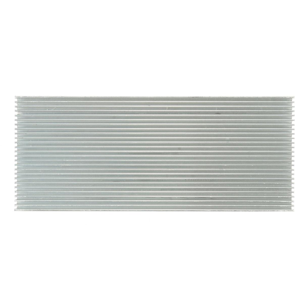 5pcs 100x41x8mm алюминиевый радиатор радиатора радиатора для высокой мощности LED Усилитель Охлаждение транзистора - фото 2