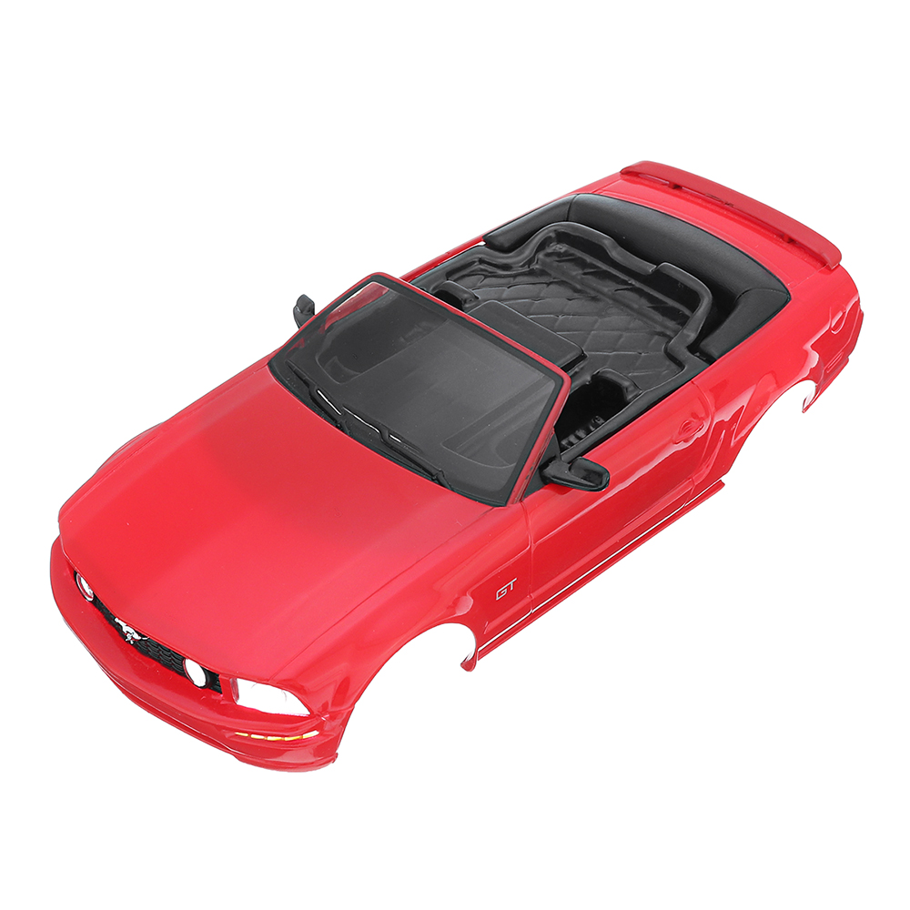 Firelap RC Авто Корпус для 1/28 Das87 Wltoys Mini-Q RC Модель автомобиля Красный - фото 1