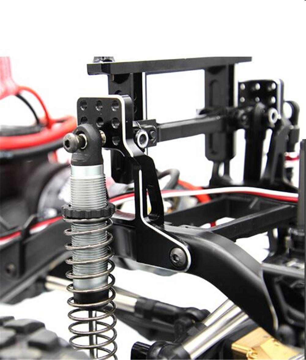 Модернизированный кронштейн амортизатора из алюминиевого сплава для 1/10 Traxxas TRX-4 Rc Гусеничный - фото 1