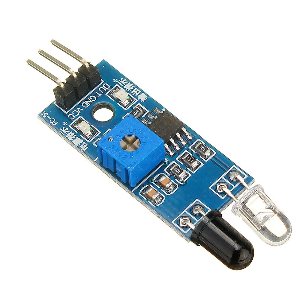 Фотоэлектрический Датчик инфракрасный модуль сигнализации предупреждения отражения препятствий 30шт - фото 2