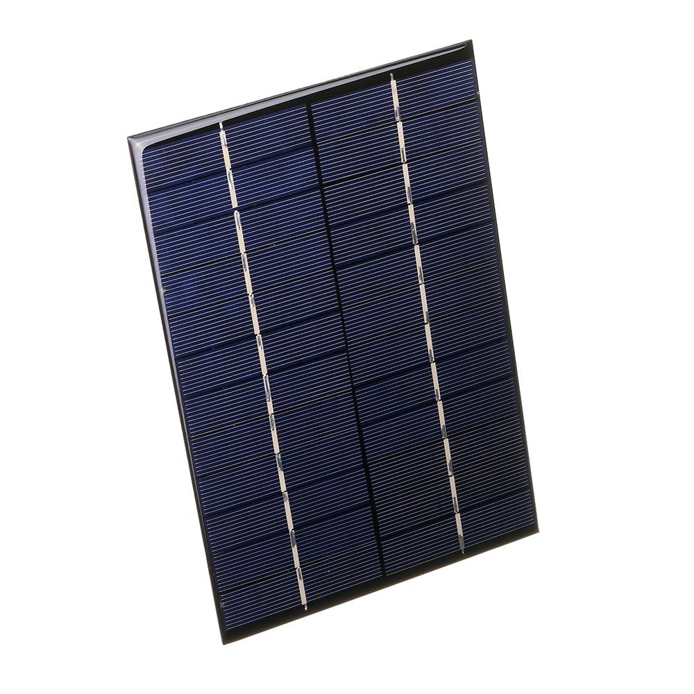 12V 4.2W 130 * 200 мм Портативная поликристаллическая панель Солнечная - фото 4