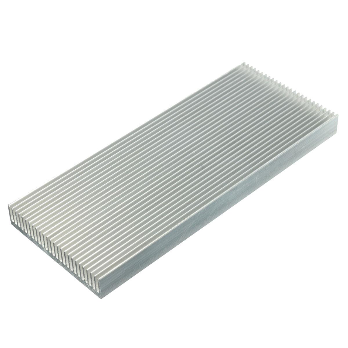5pcs 100x41x8mm алюминиевый радиатор радиатора радиатора для высокой мощности LED Усилитель Охлаждение транзистора - фото 1