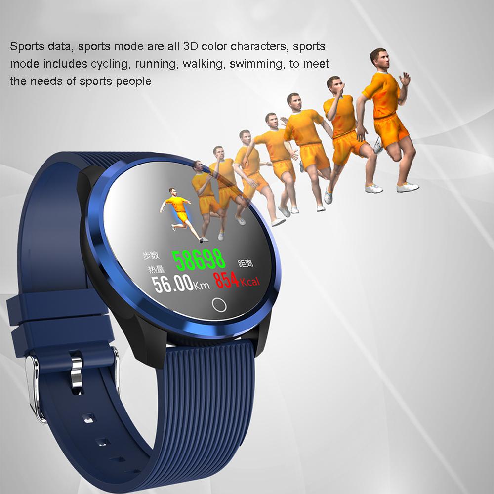 XANES®M011,3-дюймовыйцветнойэкранВодонепроницаемы Smart Watch Find Phone Фитнес Спортивный браслет - фото 5