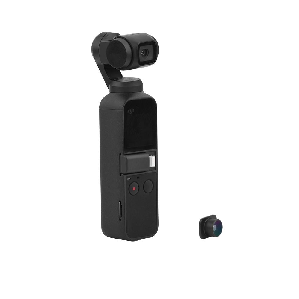 HD FishEye Объектив камера Объектив Фильтры для карманного компьютера OSMO DJI Gimbal Аксессуары - фото 7