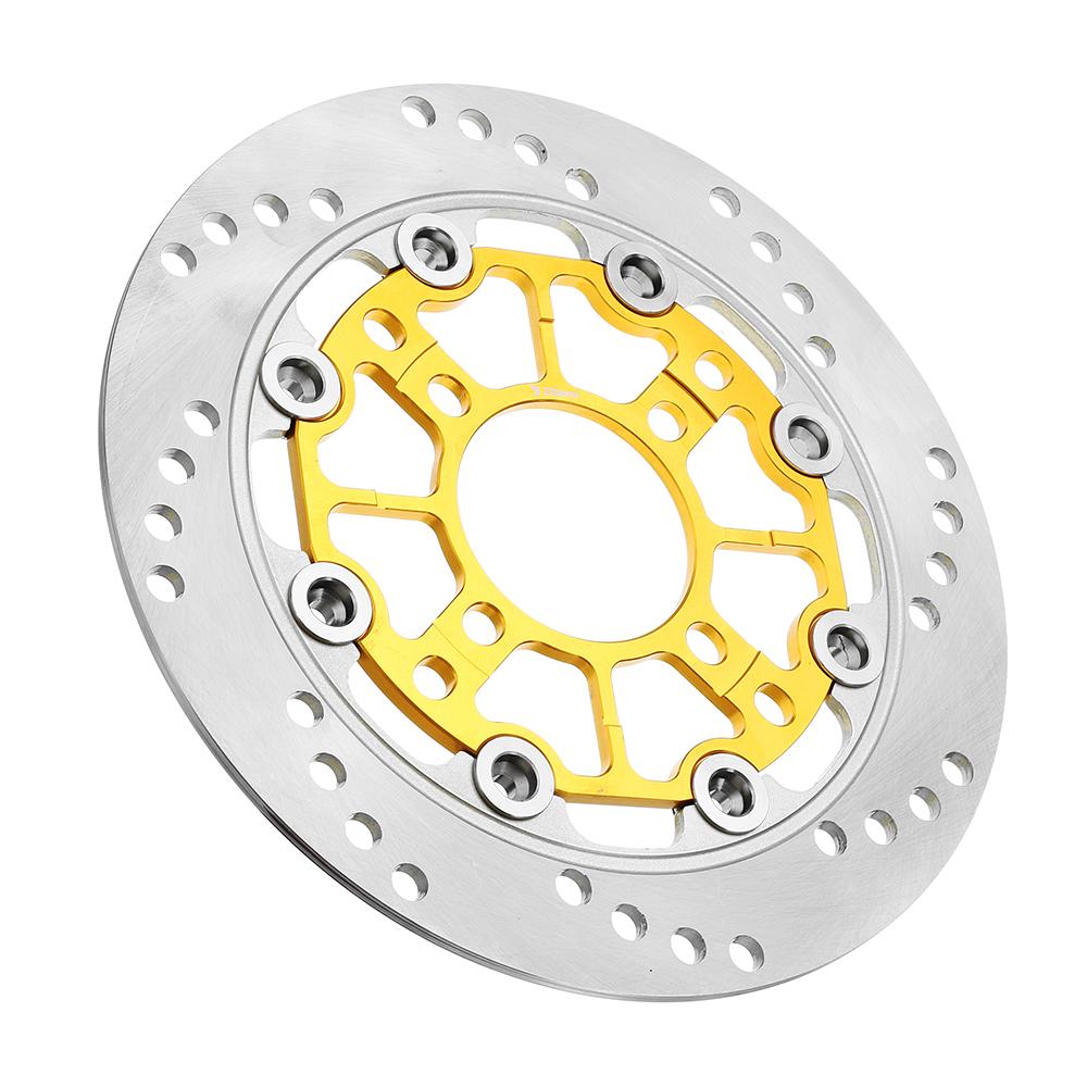 BIKIGHT220-ммалюминиевыйсплавплавающийтормозной диск, переоборудованный мотоцикл для переднего колеса тормозной рот - фото 1