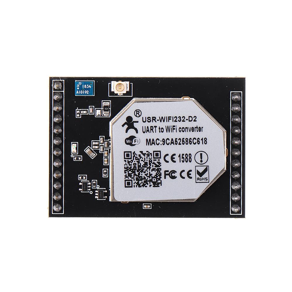 МодульSerialtoWiFiВстроенныйдвухпортовый беспроводной последовательный порт Ethernet 232 D2 - фото 7