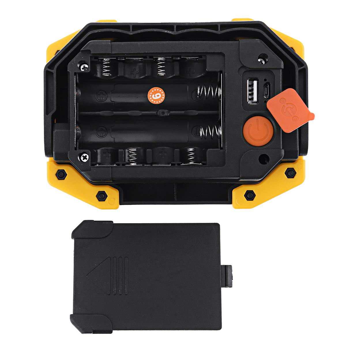 Xmund XD-SL2 30 Вт USB LED COB На открытом воздухе 3 режима рабочего освещения Кемпинг Фонарь аварийного фонаря Прожекто - фото 7