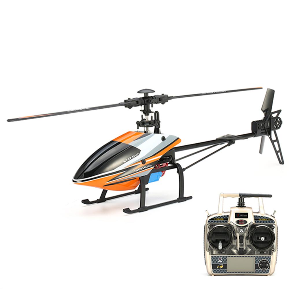 WLtoys V950 2.4G 6CH 3D6G System Бесколлекторный Flybarless RC Вертолет RTF с 4PCS 11.1V 1500MAH Lipo Батарея - фото 2