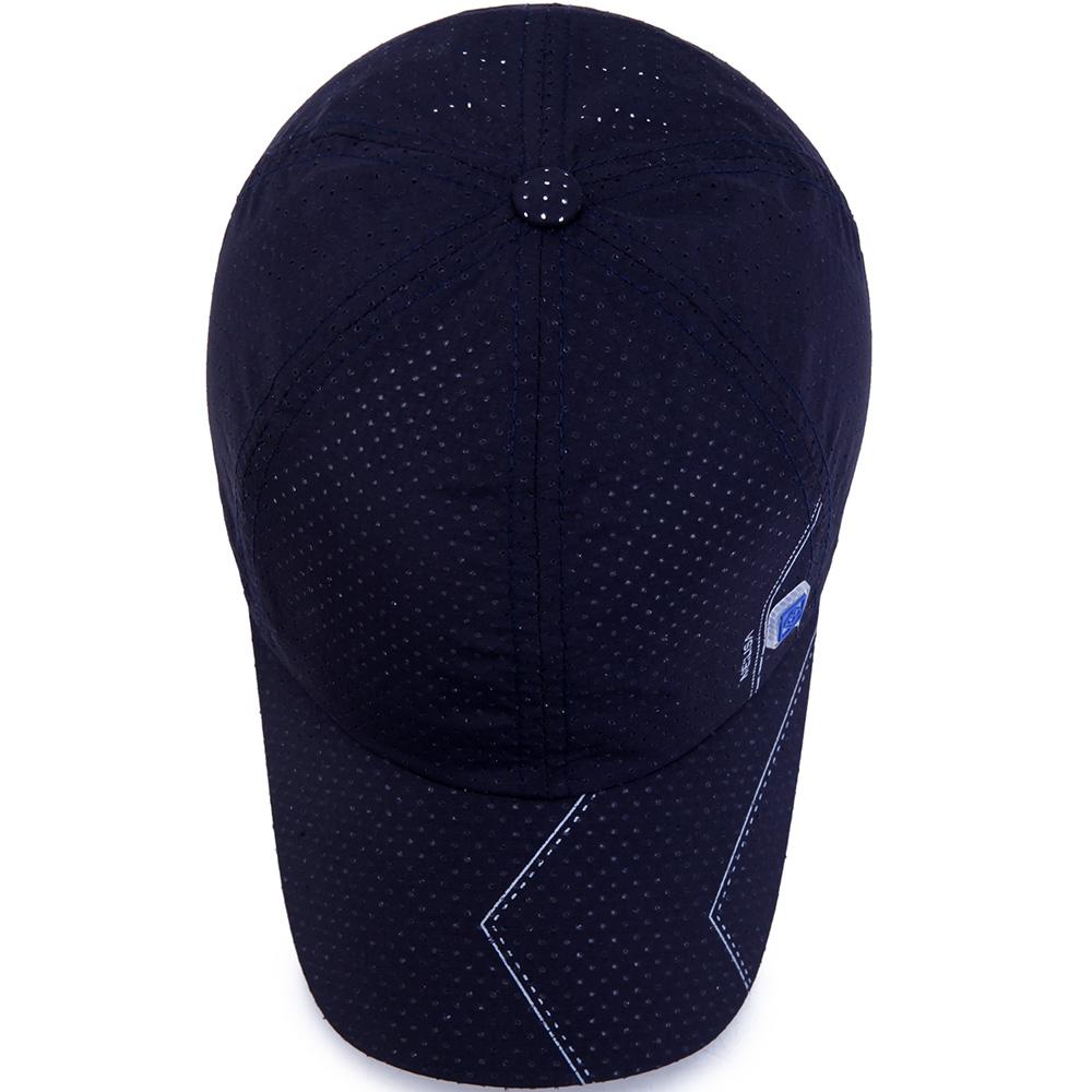 МужчиныЛетняядышащаяБыстраясушкаБейсбольная шапочка Sunshade Sun Protection Шапка Козырек - фото 9