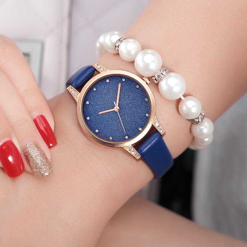 REBIRTH RE018 Rhinestone Elegant Дизайн Женское Наручные часы Розовое золото Чехол Кварцевые часы - фото 10