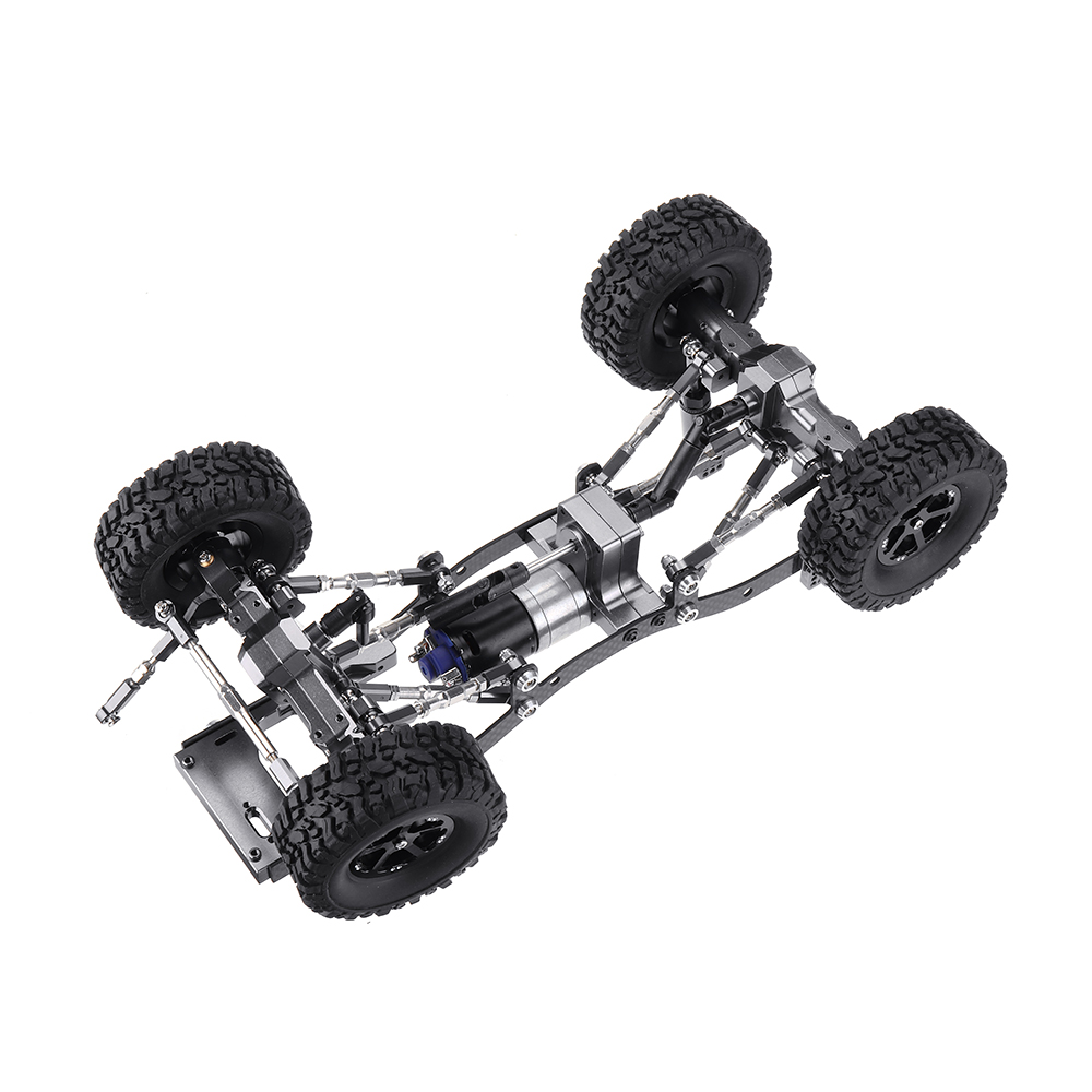 WPL C14 C24 1/16 Металл RC Авто Обновление шасси Запчасти RC Модели автомобилей - фото 7