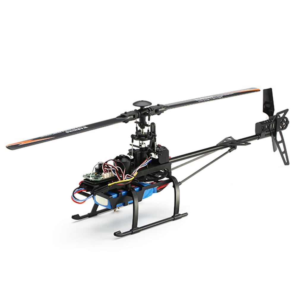 WLtoys V950 2.4G 6CH 3D6G System Бесколлекторный Flybarless RC Вертолет RTF с 4PCS 11.1V 1500MAH Lipo Батарея - фото 5