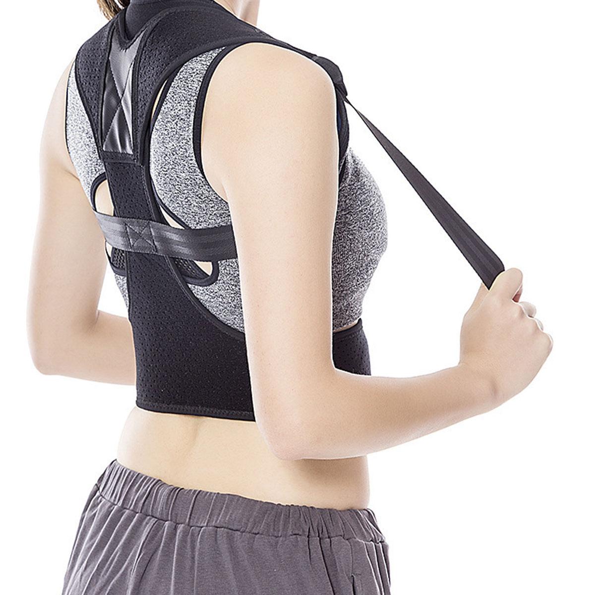 6 Тип Спинка осанки Брейс Ремень Корректор плечевой коррекции Болевая терапия Мужчины Женское - фото 1