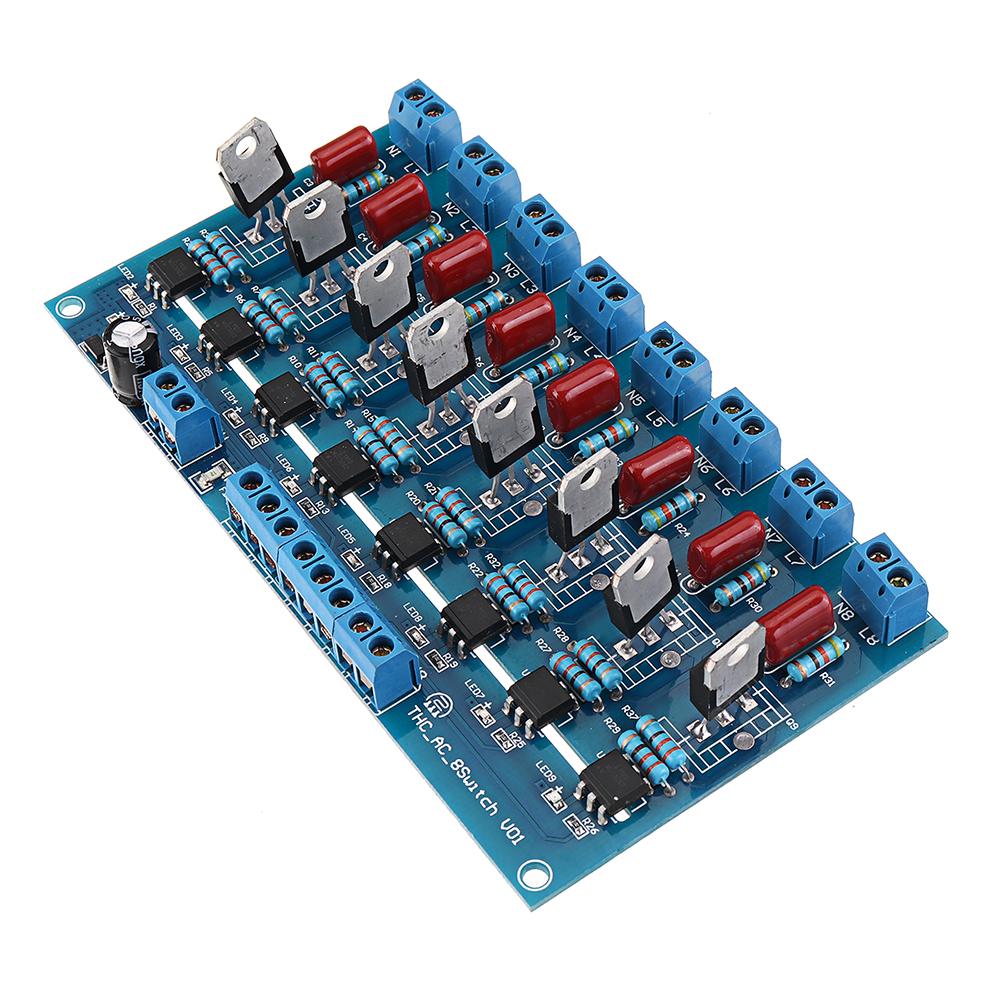 8CH Канал ПЛК Выход DC Транзистор Усилитель Изоляция Пластина Плата - фото 3