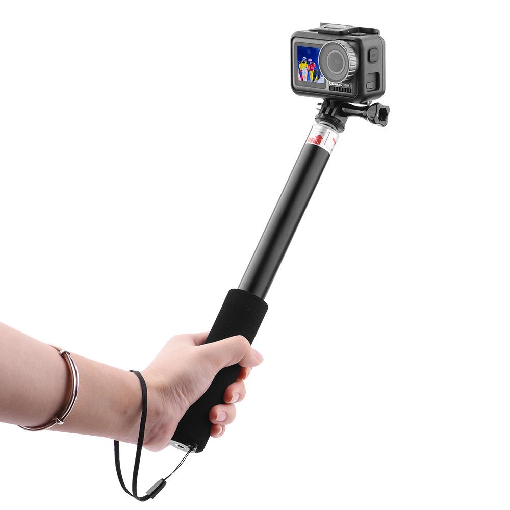 Спорт камера Удлинитель Ручной Gimbal Кронштейн со съемным зажимом для телефона для DJI Osmo Действие камера - фото 7