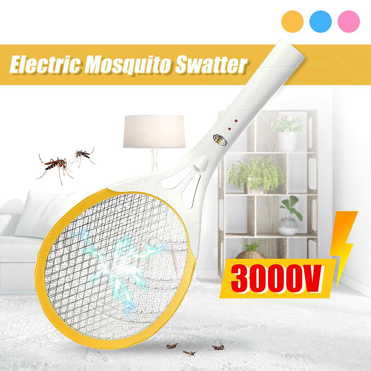 Мухобойка электрическая Мухобойка Мухобойка Zapper Bug Zapper Ракетка для тенниса Форма Убивает насекомых Комариные кома - фото 2
