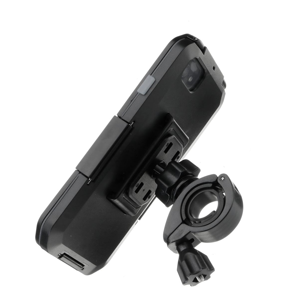 IPX8 Водонепроницаемы Держатель руля велосипеда / велосипеда Защитный Чехол Для iPhone 7/iPhone 8 - фото 3
